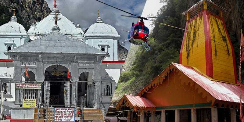 gangotri yamunotri by helicopter