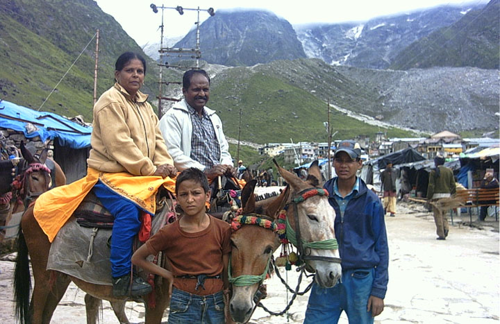 Kedarnath pony charges